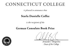 German Consulate Book Prize, 2012